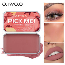 O.TWO.O Multifunctional Makeup Palette 3 IN 1 Lipstick Blush For Face Eyeshadow Lightweight Matte Lip Tint Natural Face Blush