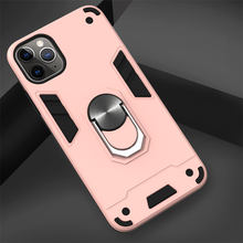 Luxury Phone Back Case For OPPO F11 Pro A9 F9 A3S A5 A1K A7 A5S A37 Realmi 3 5 Pro 3i X2 Anti-fall Ring Armor Coque Cover D03B(China)