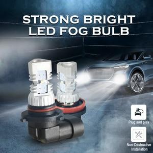 Image 2 - CNSUNNYLIGHT 2pcs LED Car Light H11 H8 Fog Lamps H7 H4 9005 HB3 9006 HB4 Daytime Running Lights Turning Parking Driving Bulb 12V