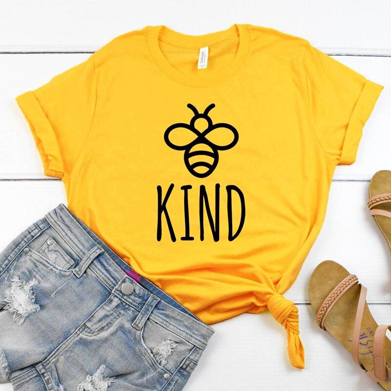 Frauen Kurzarm Inspirational T-shirt Top Stilvolle Harajuku Tumblr Hipster Baumwolle T-shirt Sommer Bee Art Grafik T-shirt Neue
