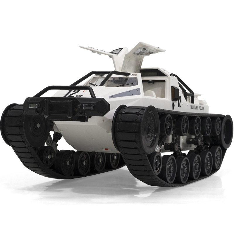 2.4G RC Tank Large Truck 1:12 Big Size Simulation Tank Drive High-Speed Drift Tank Off-Road Vehicle RC Car