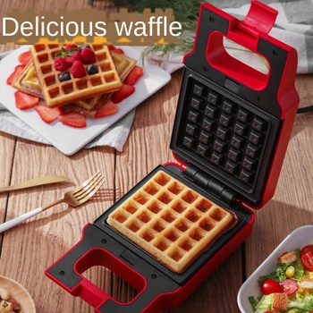 toaster Waffles Maker Iron Sandwich Egg Cake Oven Breakfast Waffle Machine Non-stick Griddle Egg Cake Oven Breakfast Machine цена 2017