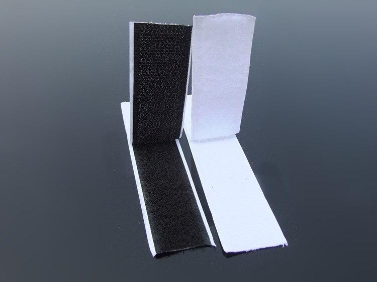 25mm de ancho modelo de avión Velcro superficie áspera ajuste eléctrico receptor batería fija doble cara goma 1 M de