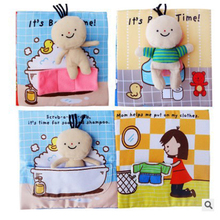 Baby Book Soft Cloth Book Toddler Newborn Early Learning Cognitive Reading Puzzle Book Toys Infant Quiet Book for Kid
