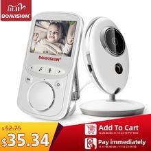 Sans fil LCD Audio vidéo bébé moniteur VB605 Radio nounou musique interphone IR 24h Portable bébé caméra bébé talkie walkie Babysitter
