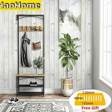 HaoHome Self Adhesive Gray Wood Wallpaper Contact Paper Peel and Stick Wall Cover Decor Furniture Stickers For Bedroon Decor