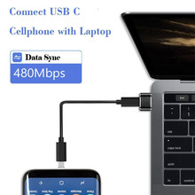 цена на Usb C To Usb Male Adapter  3.0 Type A Male to USB 3.1 Type C Female Connector Converter Standard Charging Data Transfer