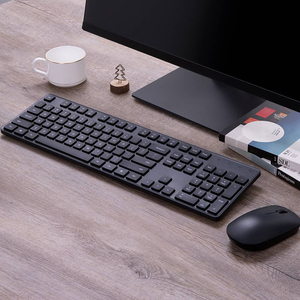 Image 3 - Xiaomi Wireless Keyboard & Mouse Set 2.4GHz Portable Multimedia Mi Mouse Keyboard Combo Notebook Laptop For Office Home