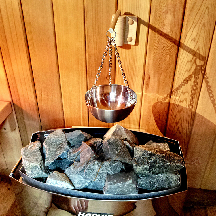 Factory Promotion Sauna Aromatherapy Oil Bowl Sauna Cup Stainless Steel Essential Oil Holder Bowl For Sauna And Spa