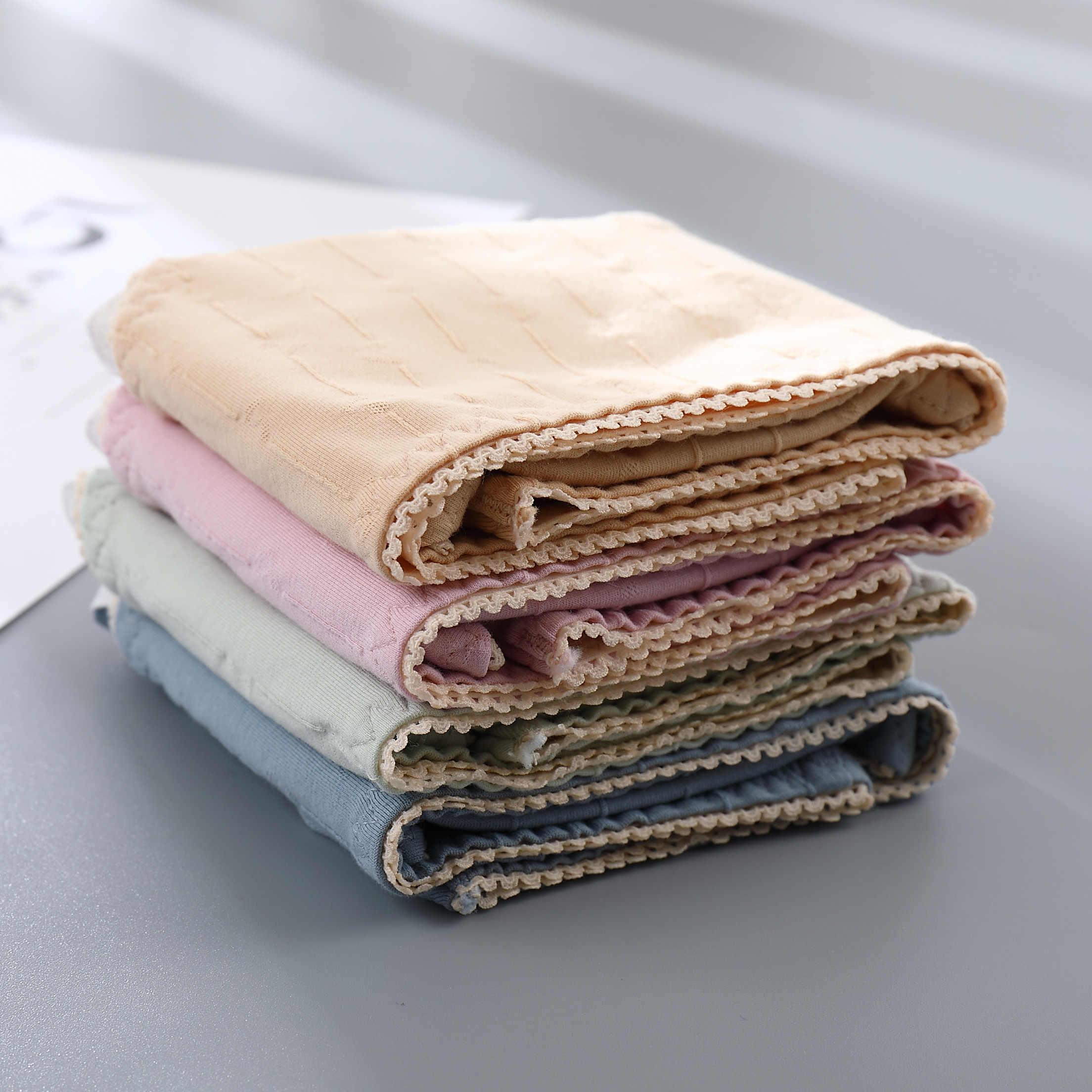 Leak Proof ประจำเดือนกางเกงสรีรวิทยากางเกงผู้หญิงชุดชั้นใน Period ผ้าฝ้ายหญิงกันน้ำกางเกง Dropshipping