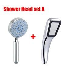 Zhangji 2 pçs showhead venda quente comprar um obter um livre de alta pressão alta qualidade padrão envio chuveiro cabeça