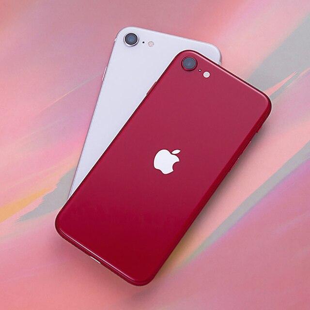 Original Apple iPhone SE 2020 IOS Cell Phones Unlocked 4.7'' A13 Bionic 3G RAM 64/128/256GB ROM Hexa Core 4G LTE Mobile Phone 3