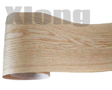 2Pieces/Lot L:2.5Meter Wide:150mm Thickness:0.2mm White Oak Wood Veneer Speaker Furniture Veneers(back Side Nonwoven Fabric)