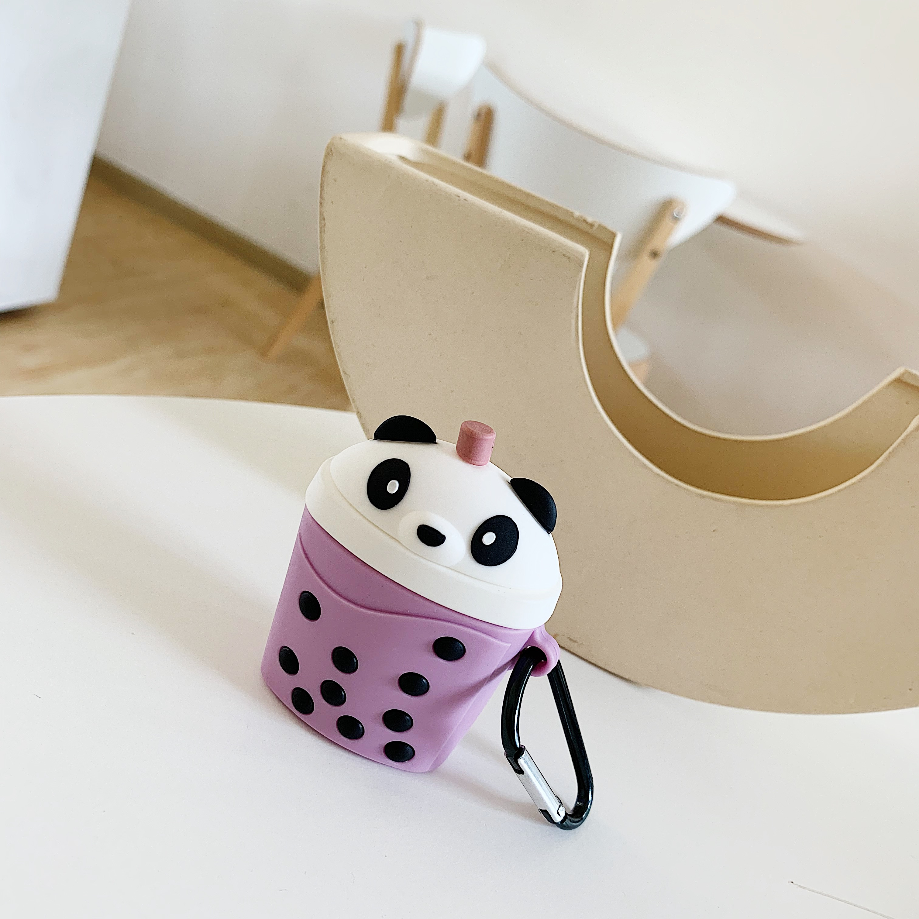 For AirPods Case Cartoon Cute silicone Milk Bubble Tea Drink Earphone Protect Cover For Airpods charging box protector case in Earphone Accessories from Consumer Electronics