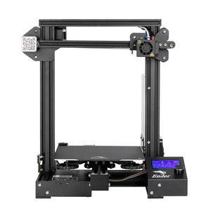 Image 2 - Набор 3d  наклеек CREALITY, обновленная версия Ender 3 профессиональный принтер комплект с магнитной крышкой, продолжение печати после перебоев с питанием, брендовый источник питания