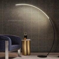 Nordic Fishing Floor Lamp Simple Modern Bedroom Living Room Hotel Vertical Table Lamp LED Creative Sofa Lamp Floor Lamp Modern