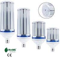 Bombilla LED de mazorca de maíz, E27, 25W, 35W, 45W, 65W, 160, 220, 280, 400, 2835, SMD, 250W, 350W, equivalentes a lámparas de alta potencia 85-450 V