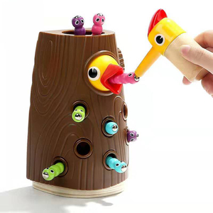 Image 1 - Baby Toy New Wooden Magnetic Fishing Game Color Cogniton Early Learning Education Toys For Children Kids Gifts Outdoor Toys Set