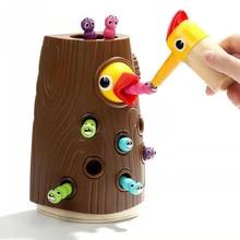 ベビー玩具新木製磁気釣りゲーム色 Cogniton 早期学習教育のおもちゃキッズギフト屋外おもちゃセット