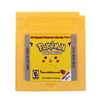 16 Bit Video Game Cartridge Console Card All Classic Poke Games 7 in 1 English Language Version For Nintendo GBC 1