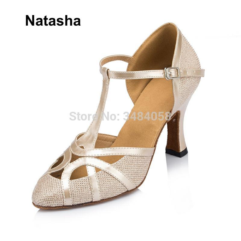 Natasha Latin Dance Shoes Ladies Adult Dance Shoes High Heel Dance Shoes