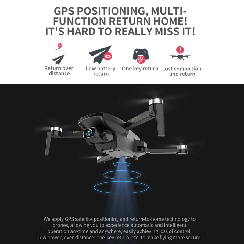 ZWN SG108 GPS Drone with 5G Wifi FPV 4K HD Dual Camera Brushless Optical Flow RC Quadcopter Follow Me Mini Dron vs L108 EX5 3