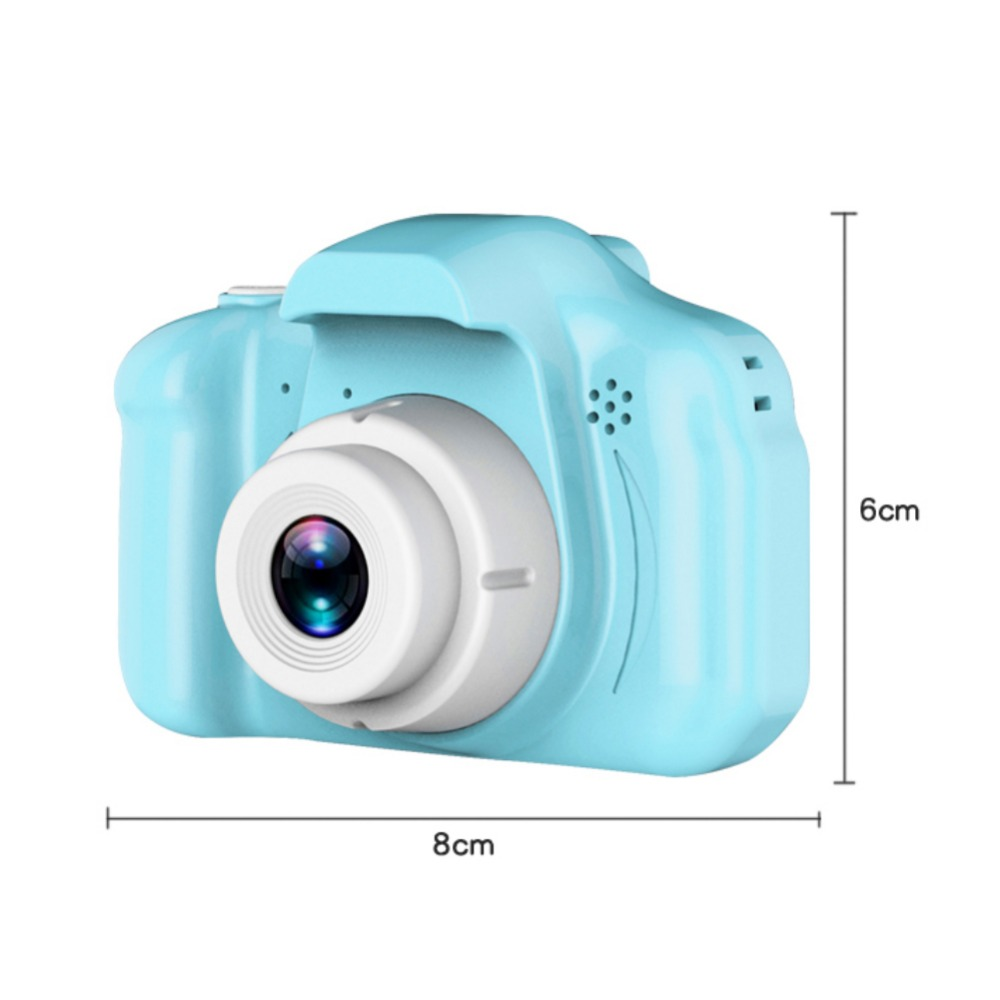 H8813416721264bfa805f0810ffac73fcn Rechargeable Kids Mini Digital Camera 2.0 Inch HD Screen 1080P Video Recorder Camcorder Language Switching Timed Shooting #S