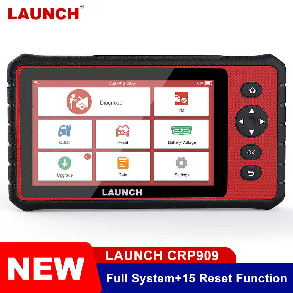 LAUNCH OBD2 Code Reader OBD2 Professional Car Diagnostic Tool ABS Airbag SAS EPB DPF Injector Coding Key Programming LAUNCH X431