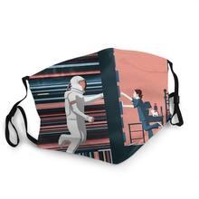 Masque Facial interstellaire, Gargantua Cooper amélia, Film de marque mercury Planet, Lavable, COOL, Anti-poussière