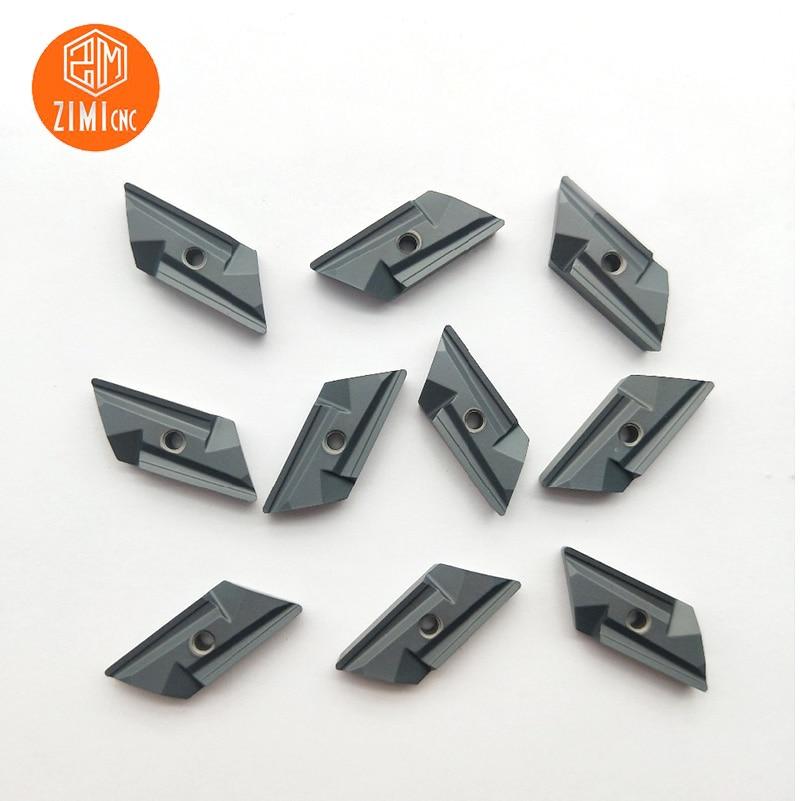 10pcs KNUX 160405R Milling Insert Turning Inserts Steel Part Machining