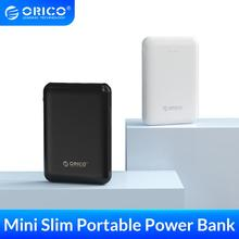ORICO 5000mAh Power Bank Dual USB Portable Slim Thin Poverbank Portable External Battery For iphone Xiaomi Mobile Phone