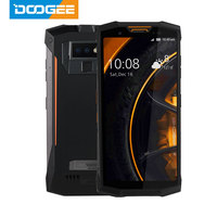 IP68/IP69K Walkie talkie DOOGEE S80 Mobile Phone Wireless Charge NFC 10080mAh 12V2A 5.99 FHD Helio P23 Octa Core 6GB 64GB 16.0M