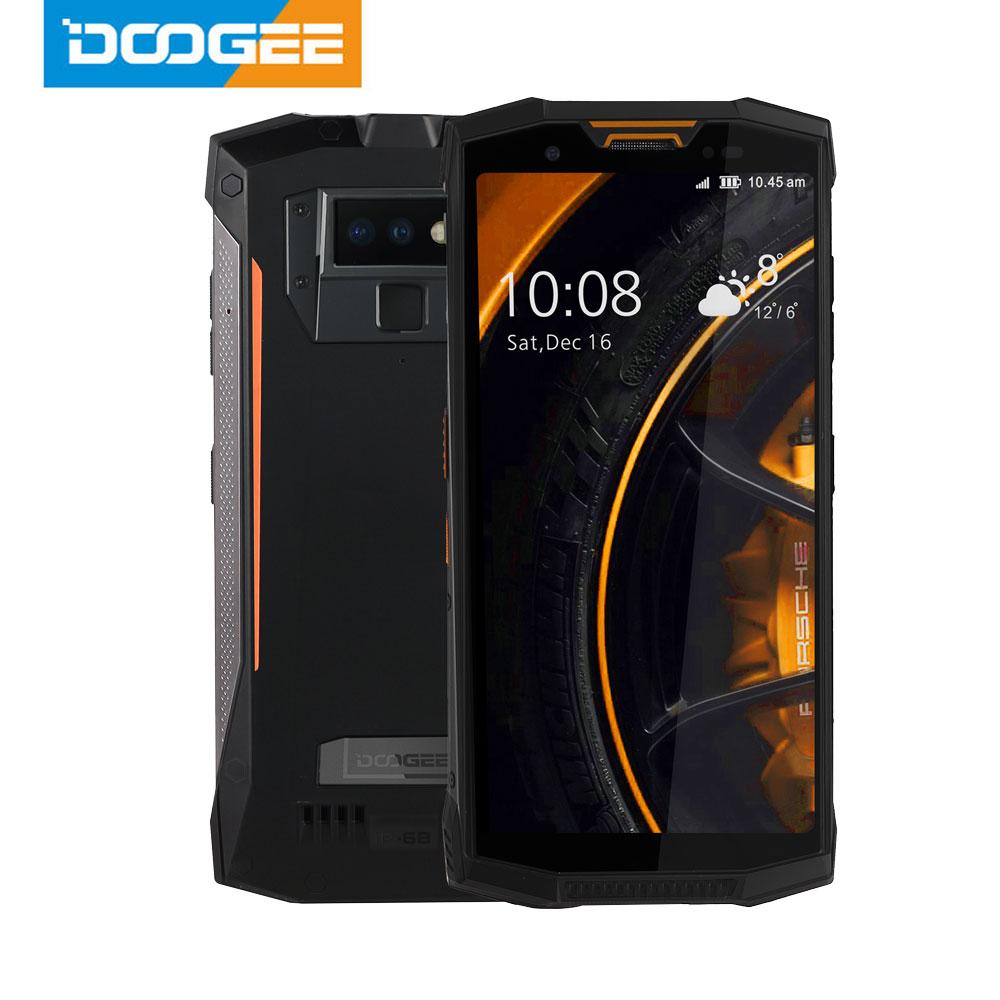 IP68/IP69K Walkie talkie DOOGEE S80 teléfono móvil carga inalámbrica NFC 10080mAh 12V2A 5,99 FHD Helio P23 Octa Core 6GB 64GB 16,0 M