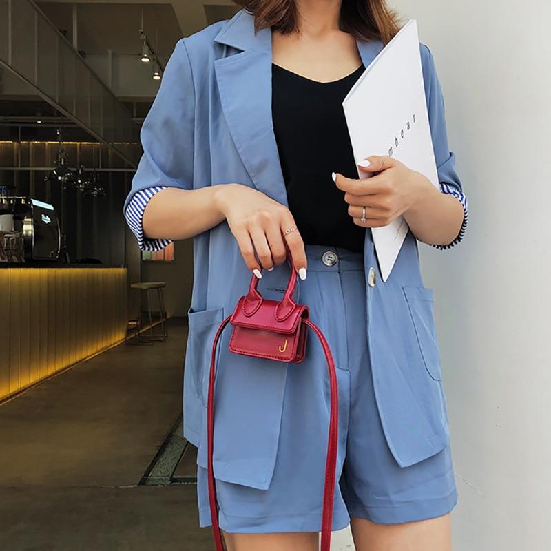 Fashion Super Mini Handbag For Women Cute Messenger Bags Luxury Designer Cute Crossbody Bags J Letter Girls Shoulder Bags