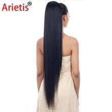 Arietis магазин 8 26 дюймов малазийские прямые волосы натуральный