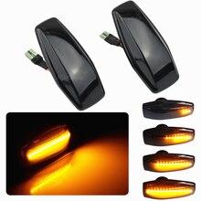 Высокое качество, 2 шт., для Hyundai, индикаторная вилка, Play Streamer, светодиодный, боковой маркер, указатель поворота, светильник для Elantra Getz XG Tucson