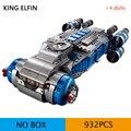60018 rebel i-ts, космический корабль, Звездный истребитель, головоломка в сборе, модель, строительные блоки, игрушки для мальчиков, подарок на день...