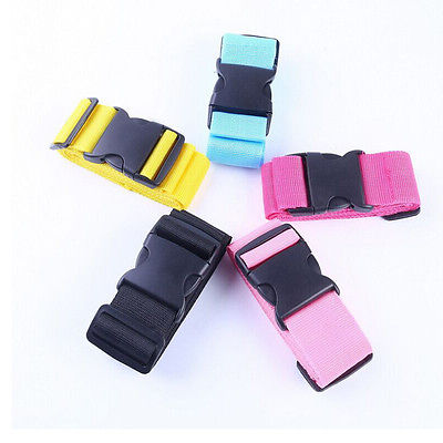 Local Stock Adjustable Suitcase Luggage Baggage Straps Combination Lock Belt Tie Down Travel