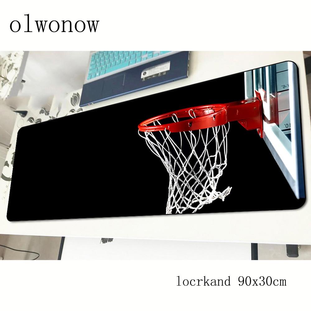 Коврик для мыши в баскетбольном стиле, мультяшный игровой компьютерный коврик для мыши 90x30 см, подставка под мышь Indie Pop, эргономичный гаджет, коврики для офисного стола-1