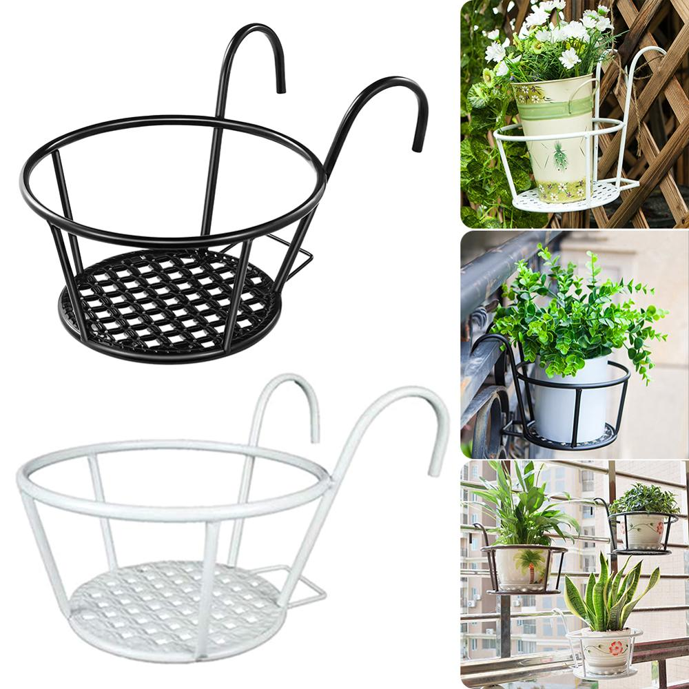 Outdoor Hanging Basket Plant Iron Racks, Outdoor Hanging Baskets For Plants