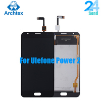 For 100% Original Ulefone Power 2 LCD Display +TP Touch Screen Digitizer Assembly +Tools 5.5 1920x1080P System Android 7.0