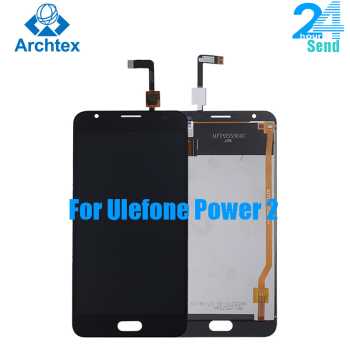 """For 100% Original Ulefone Power 2 LCD Display +TP Touch Screen Digitizer Assembly +Tools 5.5"""" 1920x1080P System Android 7.0"""
