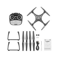 S70W 1080P GPS FPV Quadcopter Dron Follow Me WiFi Live Video Dron Fixed Height Positioning Auto Return RC Helicopters Kids Gifts