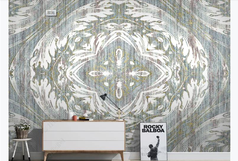 European Large Wallpaper Marble Pattern Luxury Wall Murals For Living Room Modern Brief Pattern Backdrop Wallpaper Decorative