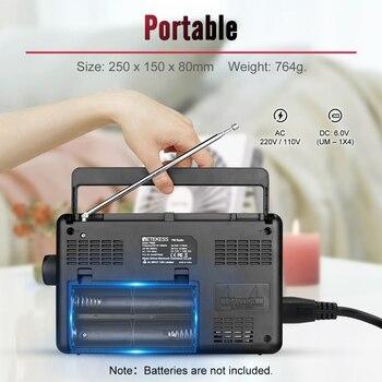 Радиоприемник RETEKESS TR626 AM/FM/SW/LW Bluetooth 6