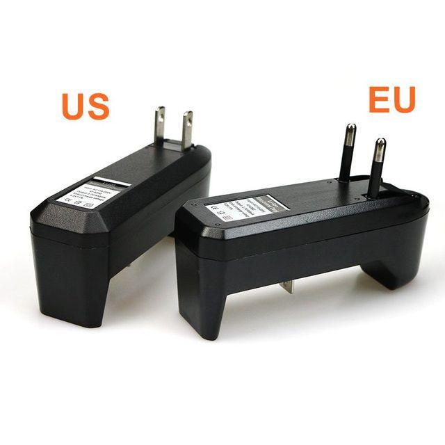 Deligreen Universale 18650 Batteria Caricabatterie Li ion Ricaricabile Caricabatterie Intelligente per 14500 ,16340 Batterie 1pcs SPINA DEGLI STATI UNITI UE 6