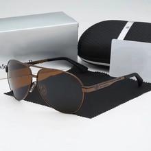 Mercedes 2020 New Sunglasses Men Classic Pilot Polarized Drive Sunglass