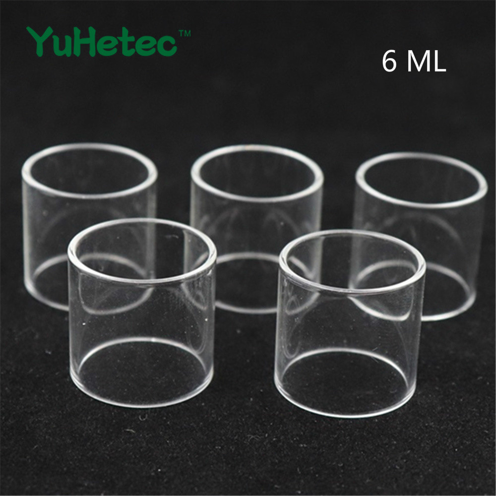 5pcs 10pcs YUHETEC Replacement Glass Tank for SMOK TFV12 TANK in Electronic Cigarette Accessories from Consumer Electronics
