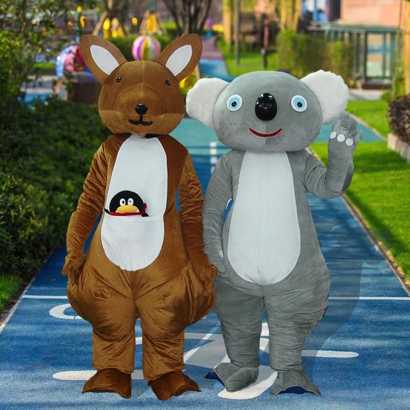 [Tml] cosplay canguru e coala mascote traje