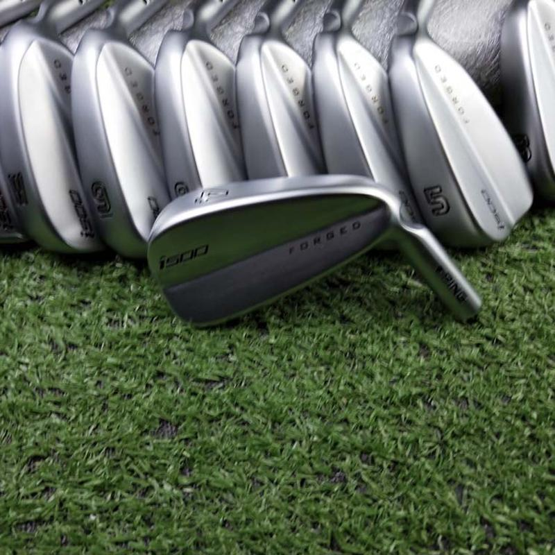 Golf Clubs I-500 Irons Sliver Golf Forged Iron 3-9WU A Set Of 9 Pieces R / S Send Headcover Free Shiping